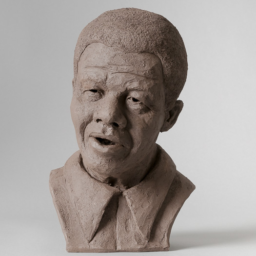 Sketch for a monument of Nelson Mandela